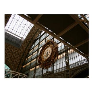 Clock at Great Hall Postcard