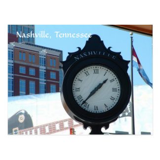 Clock at the Riverfront Postcard