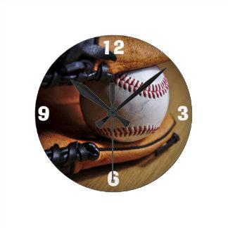 Clock: Baseball Season Round Clock