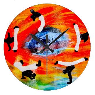 clock batizado capoeira love axe time keeper ginga