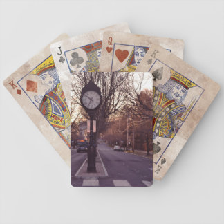 Clock Bicycle Playing Cards