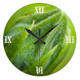 Clock: Brass Hearted. Watch Mechanism Wall Clocks