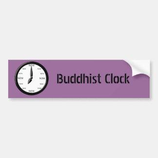 Clock Buddhist Clock Car Bumper Sticker