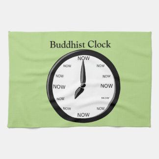 Clock -  Buddhist Clock Kitchen Towel