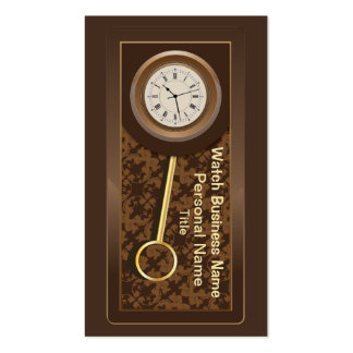 Clock  Business Business Card