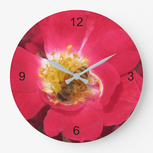 Clock - Busy Bee