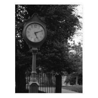 Clock, Capital Building Grounds Richmond, VA Postcard