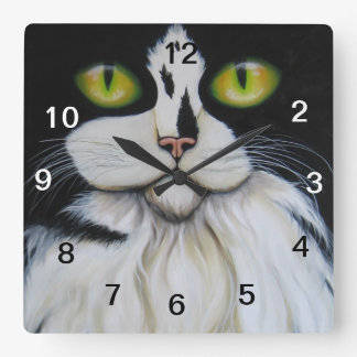clock, cat clock
