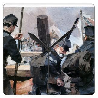 Clock Civil War theme