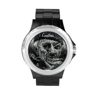 Clock classic Jacques Cousteau clock Watch