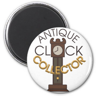 Clock Collector 2 Inch Round Magnet