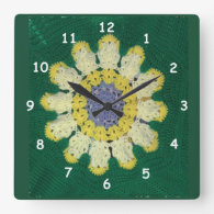 Clock - Crochet Pattern - Daisy
