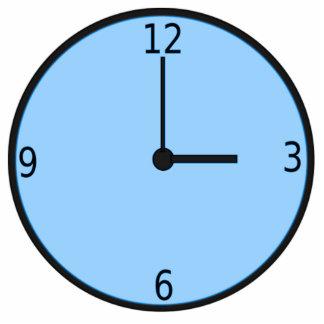 Clock Displaying Time Photo Sculptures