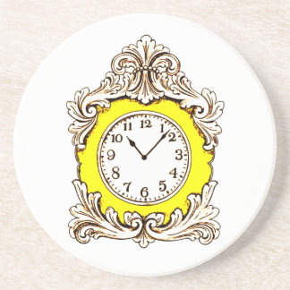 Clock Drink Coaster