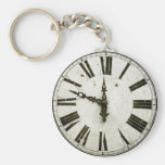 Clock Face Keychains