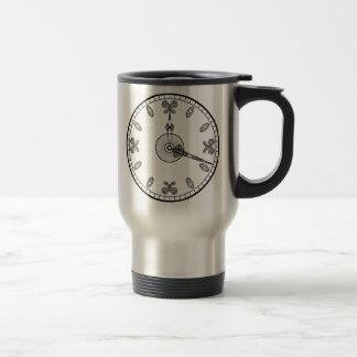 Clock Face Travel Mug