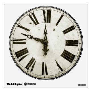 Clock Face Wall Decal
