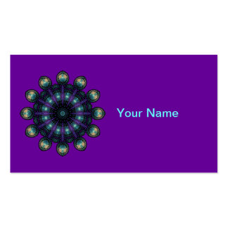 Clock Faces - Apophysis Fractal Double-Sided Standard Business Cards (Pack Of 100)