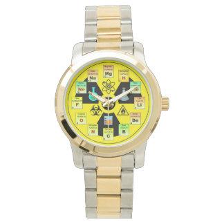 Clock for Chemistries Wristwatch