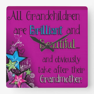 clock for grandmothers