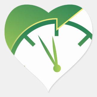Clock Forward Arrow Time Icon Heart Sticker