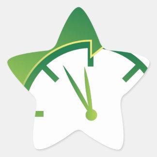 Clock Forward Arrow Time Icon Star Sticker