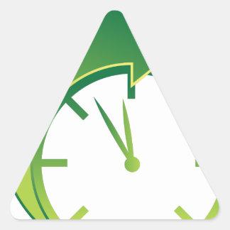 Clock Forward Arrow Time Icon Triangle Sticker