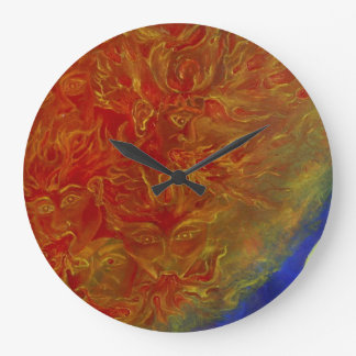 Clock from the sun