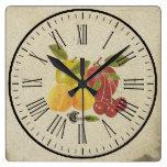 clock fruits