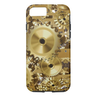 Clock Gold Image iPhone 7, Tough iPhone 8/7 Case