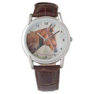 Clock horse of Saratoga Watch