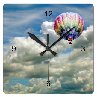 Clock - Hot air balloon