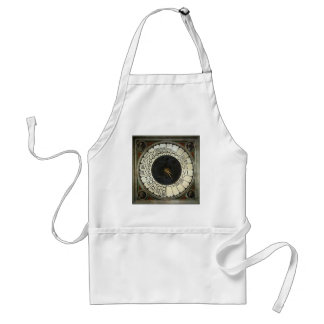 Clock in the Duomo by Paolo Uccello Adult Apron