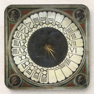 Clock in the Duomo by Paolo Uccello Coaster