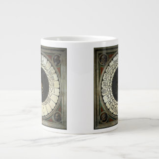 Clock in the Duomo by Paolo Uccello Large Coffee Mug