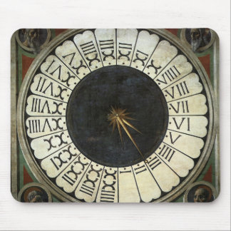 Clock in the Duomo by Paolo Uccello Mouse Pad