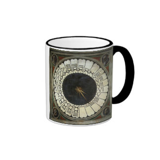 Clock in the Duomo by Paolo Uccello Ringer Mug