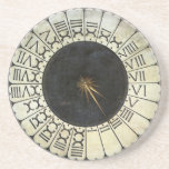 Clock in the Duomo by Uccello, Renaissance Art Coaster
