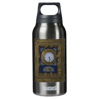 clock insulated water bottle