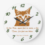 Clock: Le Chat