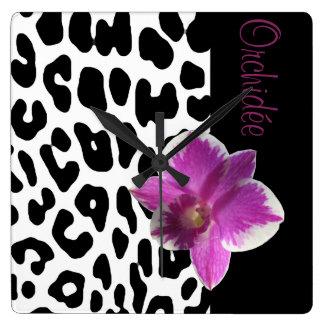 Clock Leopard/Orchis