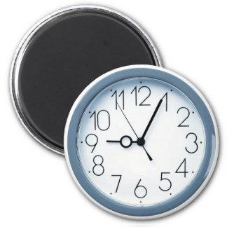 Clock Fridge Magnet