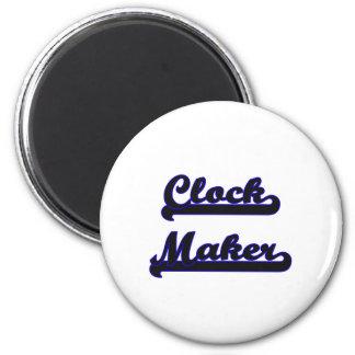 Clock Maker Classic Job Design 2 Inch Round Magnet
