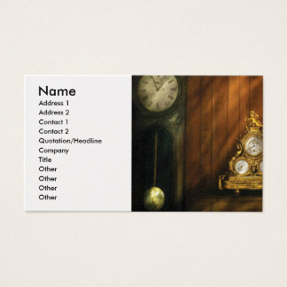 Clock Maker - Clocks Business Card