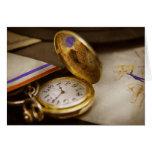 Clock Maker - Time never waits Card