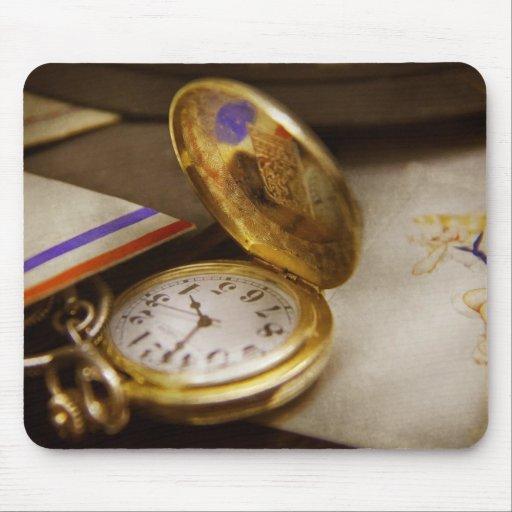 Clock Maker - Time never waits Mousepads