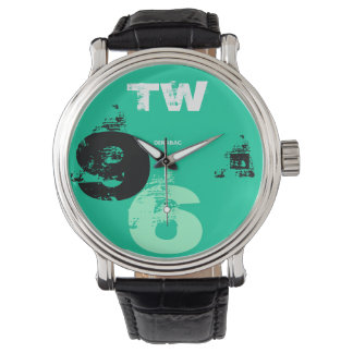 Clock Man 96 Green Is Wristwatches