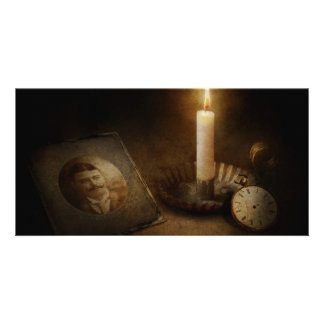 Clock - Memories Eternal Photo Card