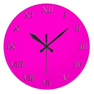 Clock - Metal Roman Numerals