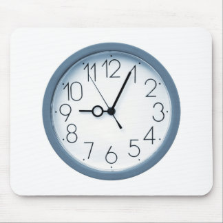 Clock Mouse Pad